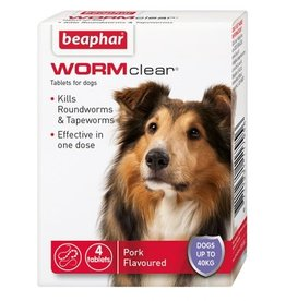 Beaphar WORMclear One Dose Wormer for Dogs