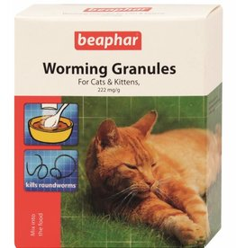 Beaphar Worming Granules For Cats, 4 x 1g