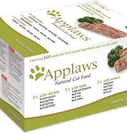 Applaws Cat Pate with Chicken/Lamb/Salmon 7 x 100g
