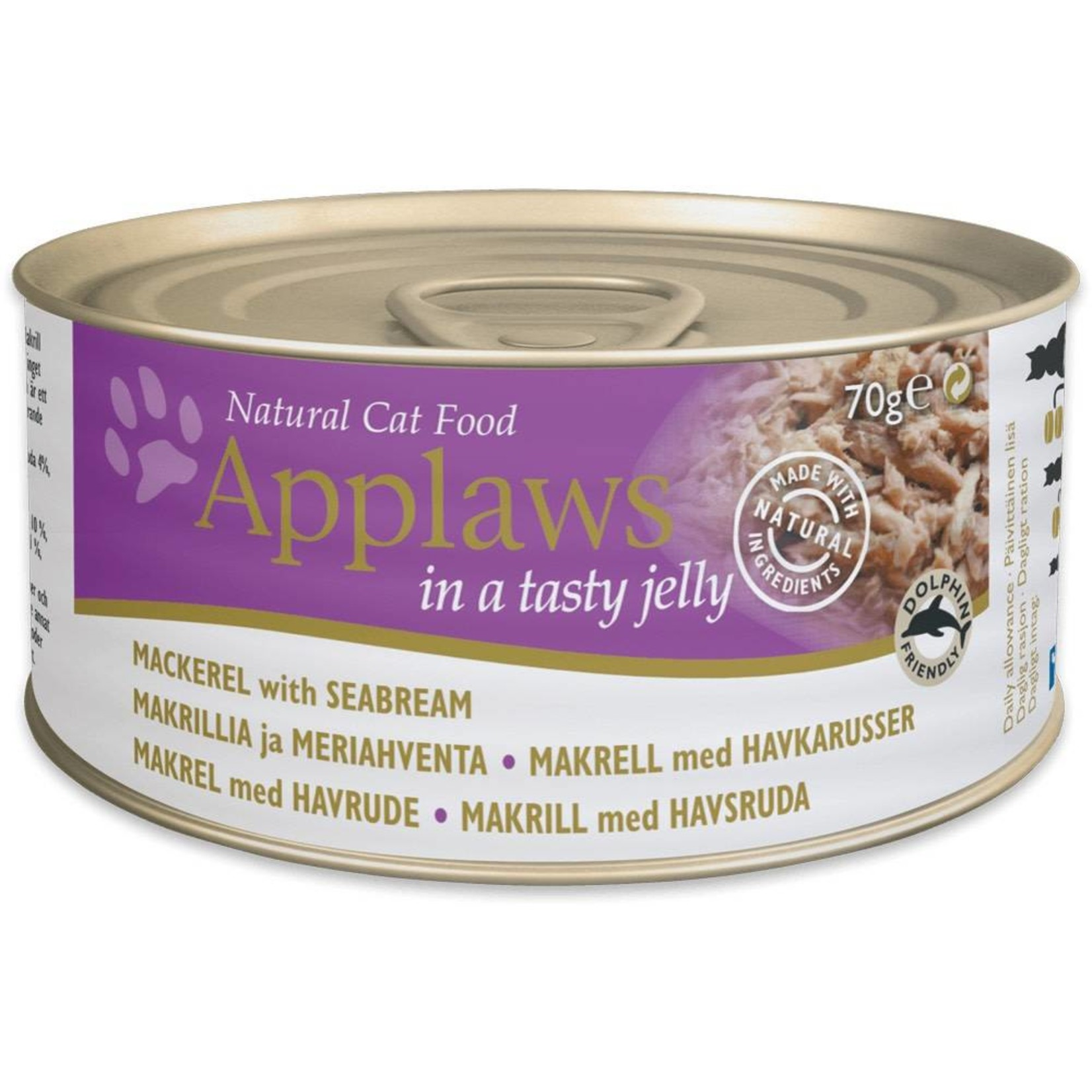 Applaws Cat Wet Food Mackerel with Seabream, 70g