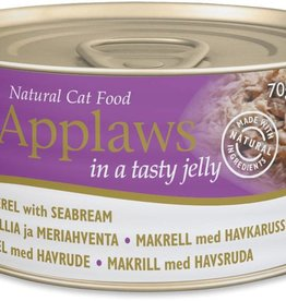 Applaws Cat Wet Food Mackerel with Seabream 70g
