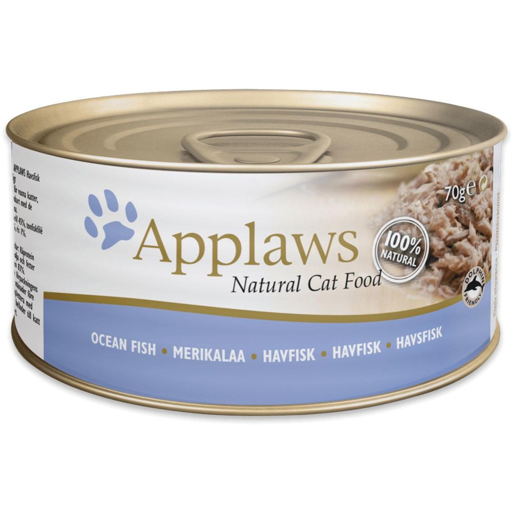 Applaws Cat Wet Food Ocean Fish, 156g