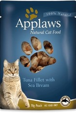 Applaws Cat Wet Food Pouch Tuna Fillet with Sea Bream 70g