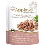 Applaws Cat Wet Food Pouch Tuna with Salmon in Jelly, 70g