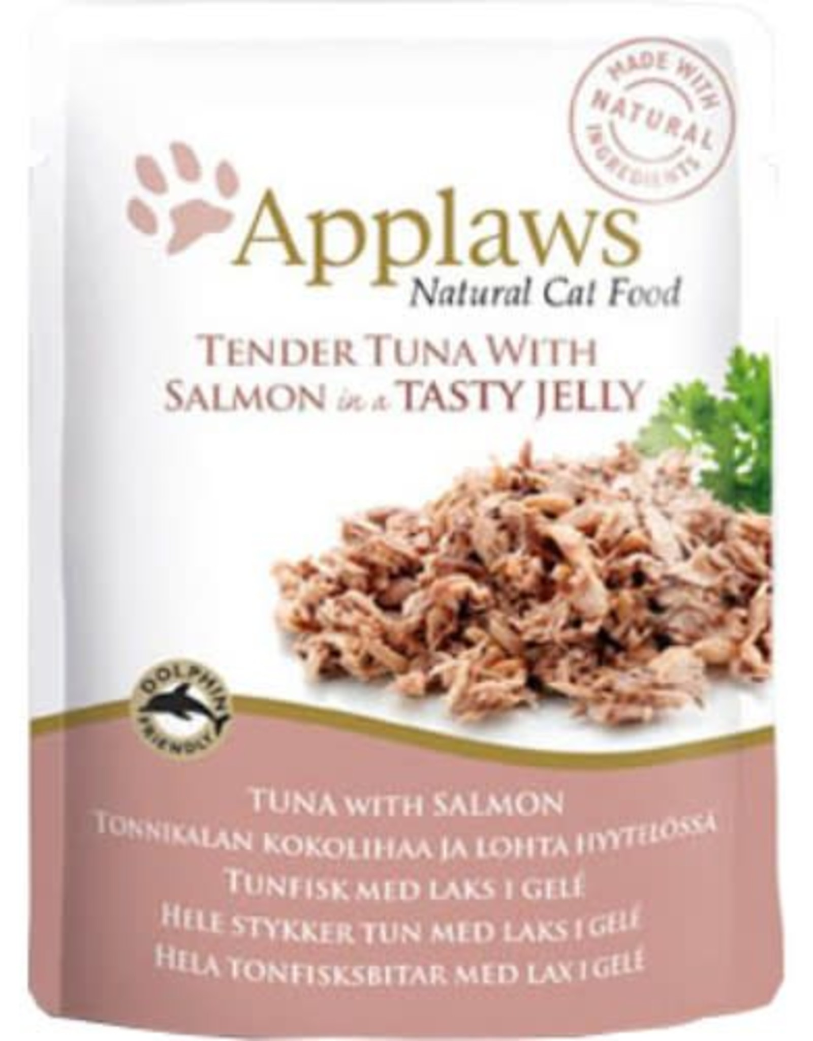 Applaws Cat Wet Food Pouch Tuna with Salmon in Jelly 70g
