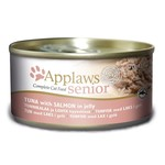 Applaws Cat Wet Food Senior Tuna with Salmon, 70g