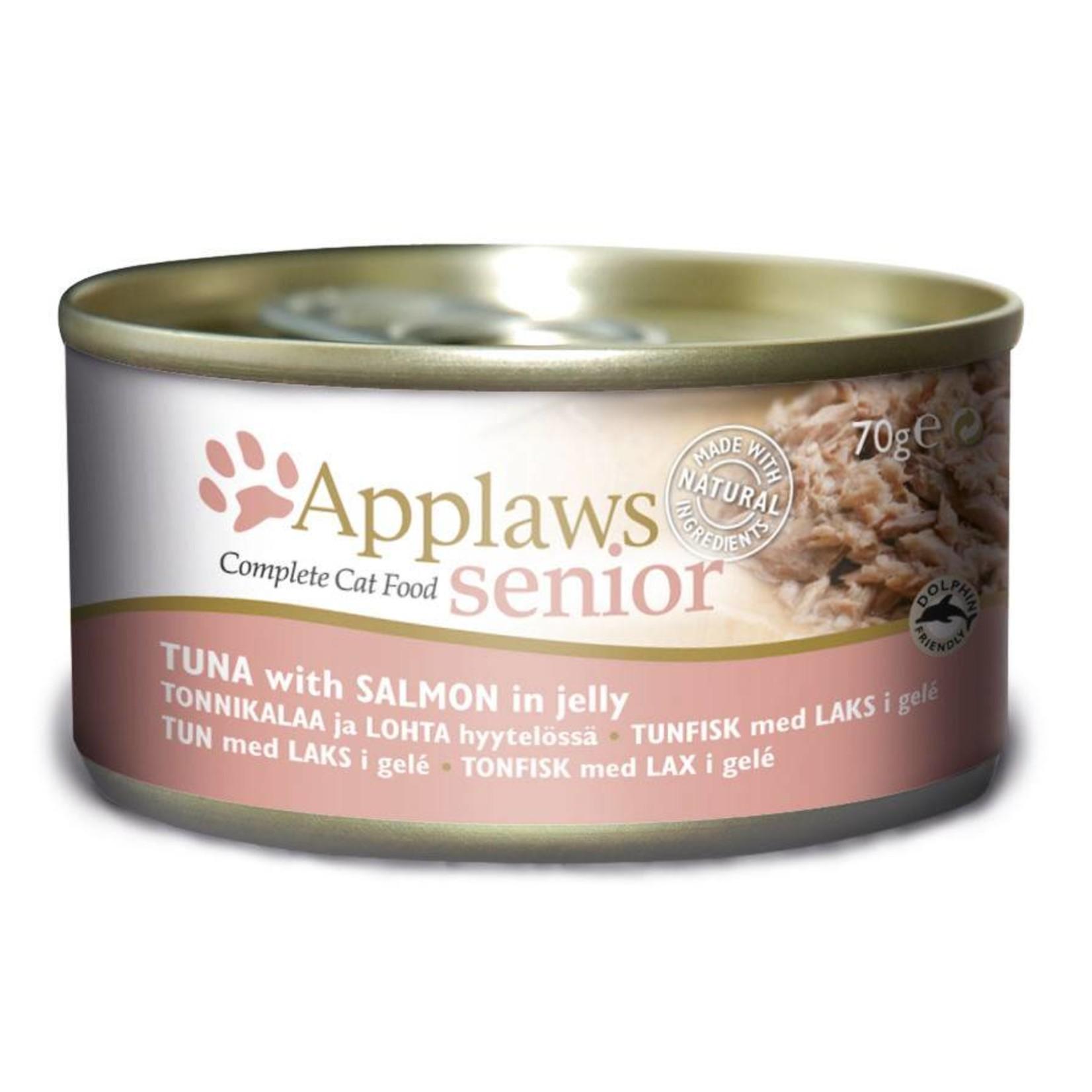Applaws Cat Wet Food Senior Tuna with Salmon, 70g