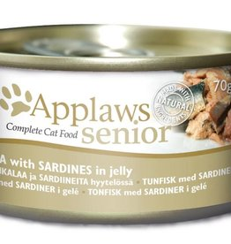 Applaws Cat Wet Food Senior Tuna with Sardines 70g