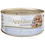Applaws Cat Wet Food Tuna Fillet & Cheese, 70g