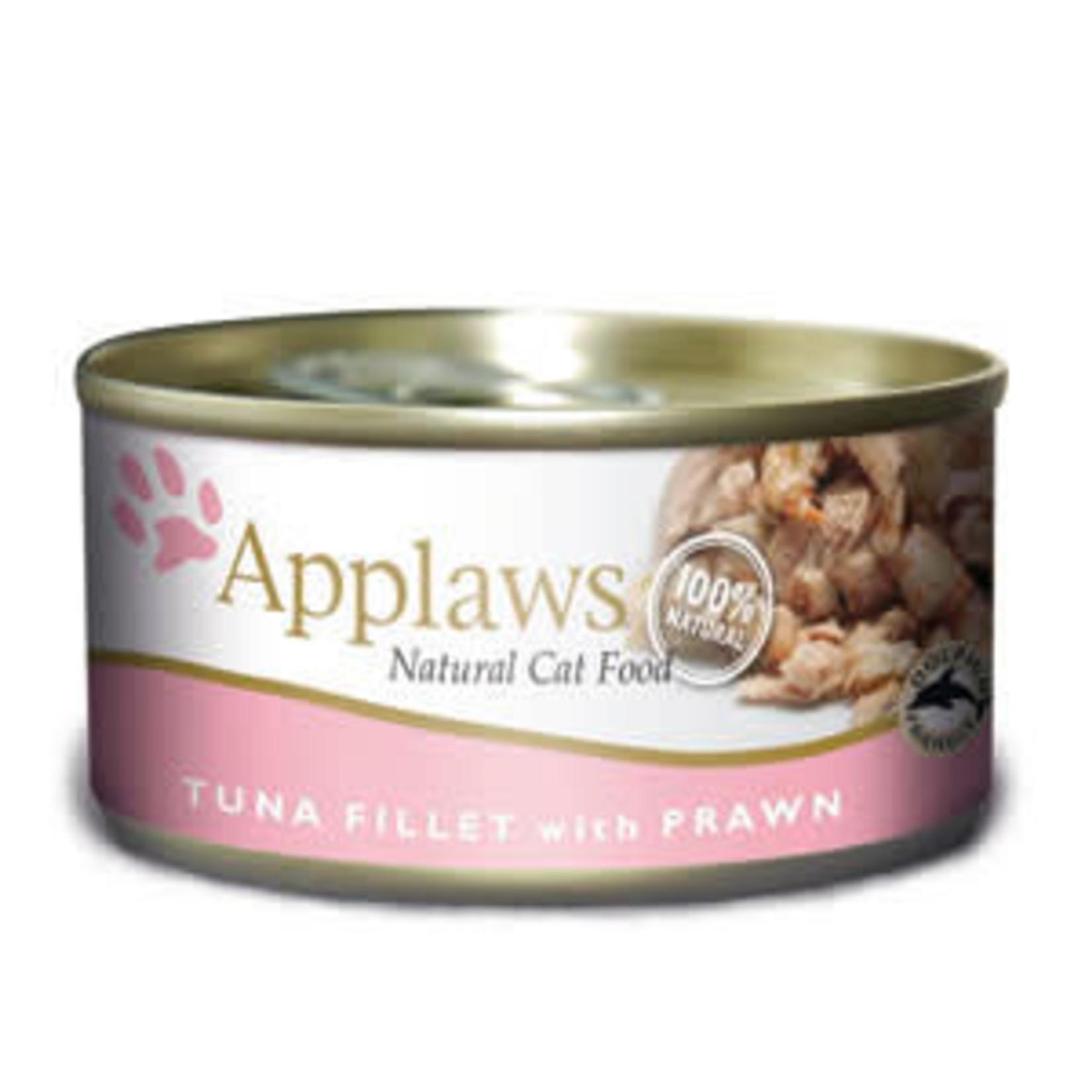 Applaws Cat Wet Food Tuna Fillet & Prawn, 70g