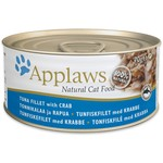 Applaws Cat Wet Food Tuna Fillet with Crab, 70g