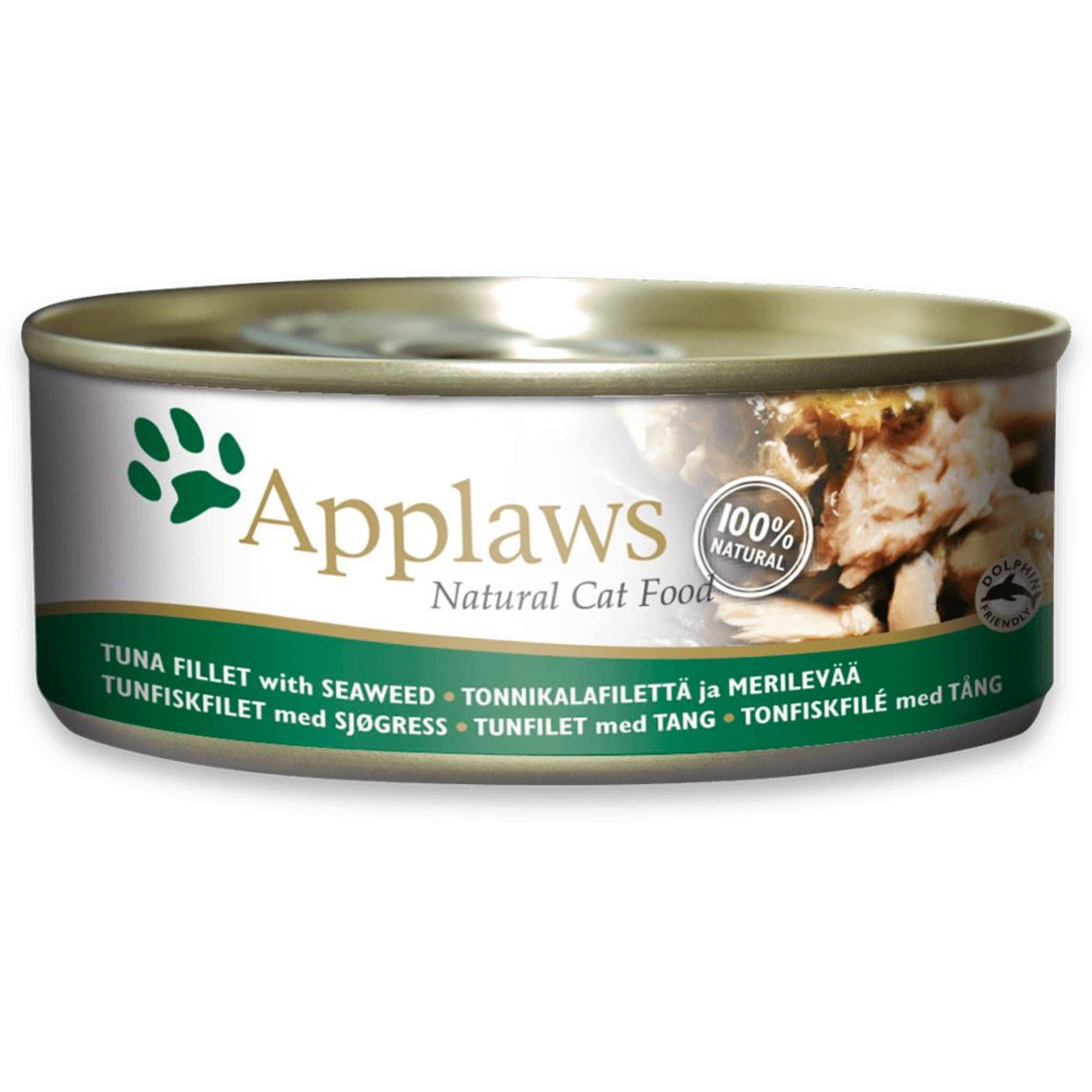 Applaws Cat Wet Food Tuna Fillet with Seaweed in Jelly, 70g