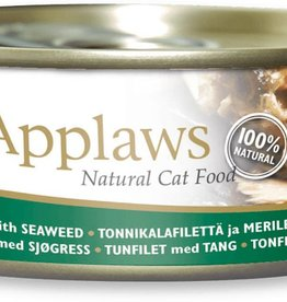 Applaws Cat Wet Food Tuna Fillet with Seaweed in Jelly 70g