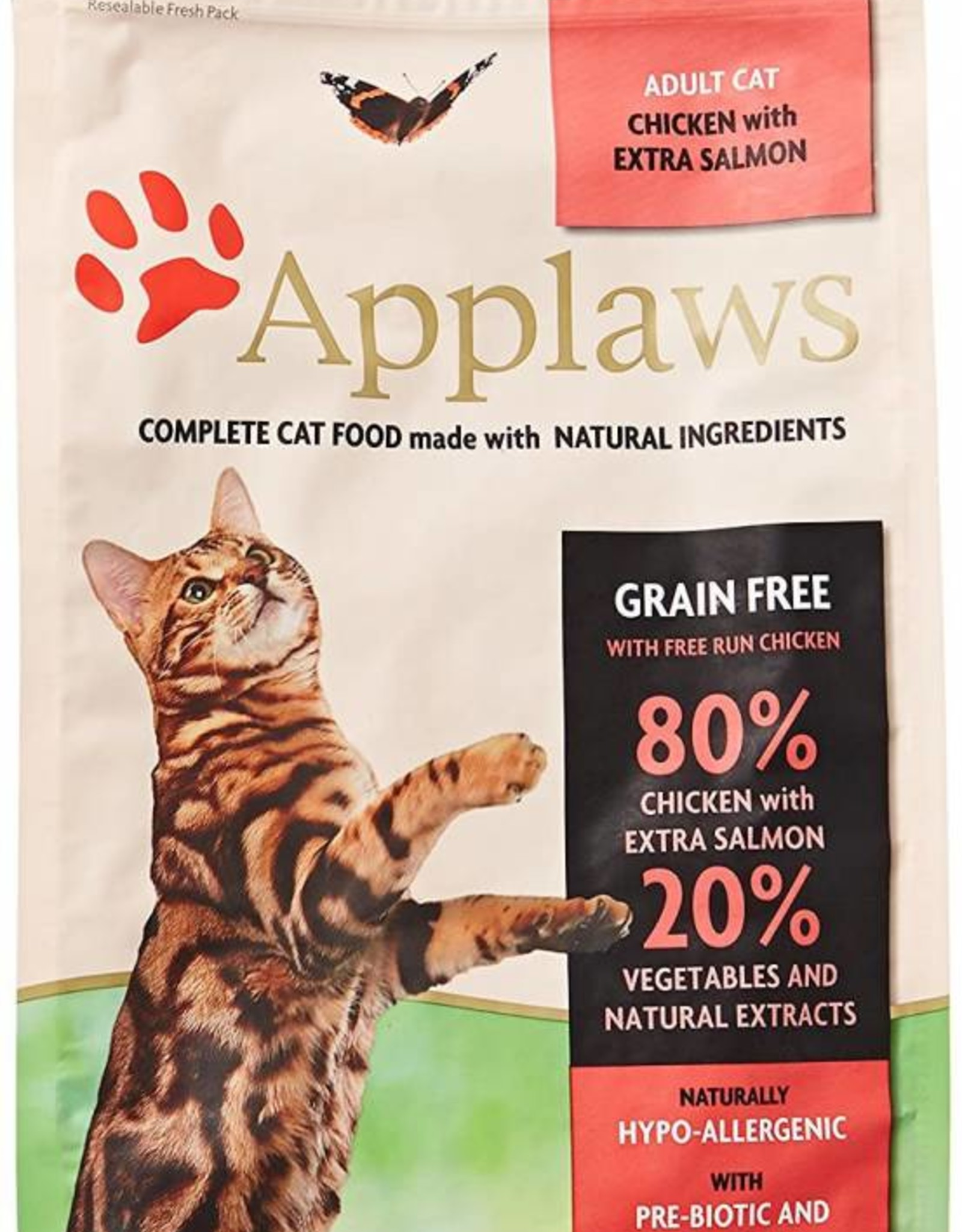 Applaws Complete Adult Cat Dry Food, 80% Chicken & Salmon