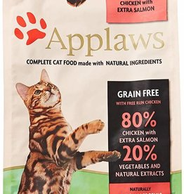 Applaws Complete Adult Dry Cat Food, 80% Chicken & Salmon