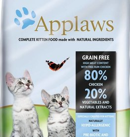 Applaws Complete Kitten Dry Food, 80% Chicken