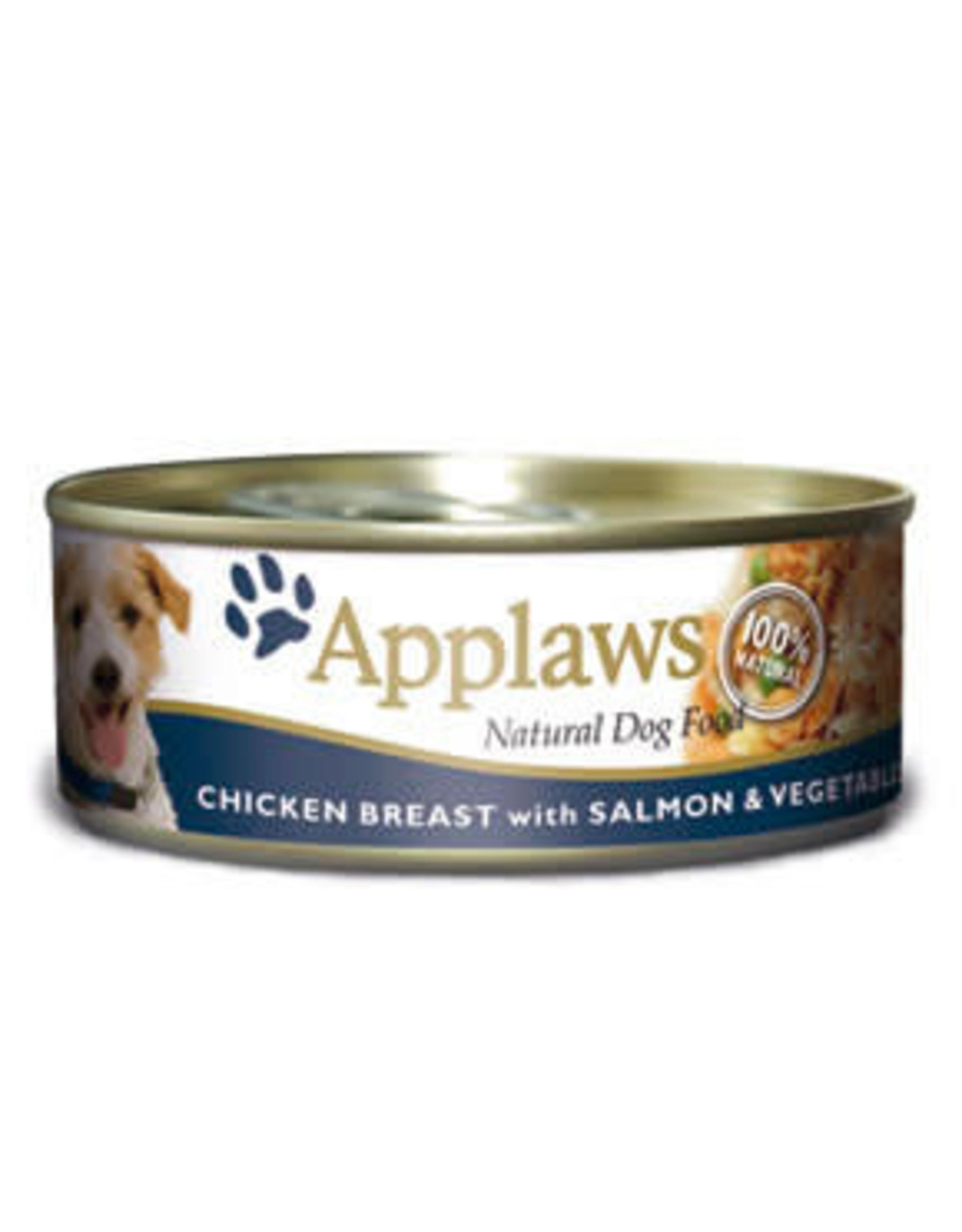 Applaws Dog Wet Food Chicken Breast with Salmon & Vegetables 156g