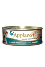 Applaws Dog Wet Food Chicken with Tuna in Jelly 156g