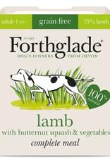 Forthglade Complete Grain Free Lamb, Butternut Squash & Veg Adult Wet Dog Food, 395g
