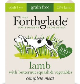 Forthglade Complete Adult Lamb, Butternut Squash & Veg Grain Free Wet Dog Food 395g
