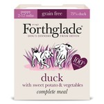 Forthglade Complete Grain Free Duck, Sweet Potato & Veg Puppy Wet Dog Food, 395g