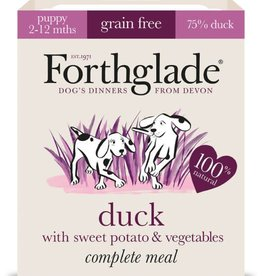 Forthglade Complete Puppy Duck, Sweet Potato & Veg Grain Free Wet Dog Food 395g