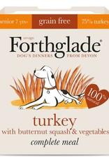 Forthglade Complete Senior Turkey, Butternut Squash & Veg Grain Free Wet Dog Food 395g