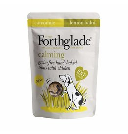 Forthglade Grain Free Hand Baked Calming Dog Treats with Chicken, 150g