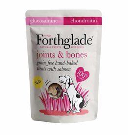 Forthglade Grain Free Hand Made Joint Dog Treats with Salmon 150g