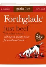 Forthglade Just Beef Grain Free 2 Months + Wet Dog Food, 395g