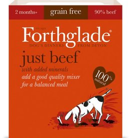 Forthglade Just Beef Grain Free Wet Dog Food 395g