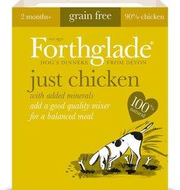 Forthglade Just Chicken Grain Free 2 Months + Wet Dog Food, 395g