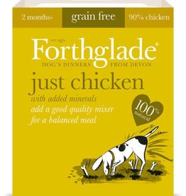 Forthglade Just Chicken Grain Free Wet Dog Food 395g