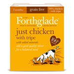 Forthglade Just Chicken with Tripe Grain Free 2 Months + Wet Dog Food, 395g