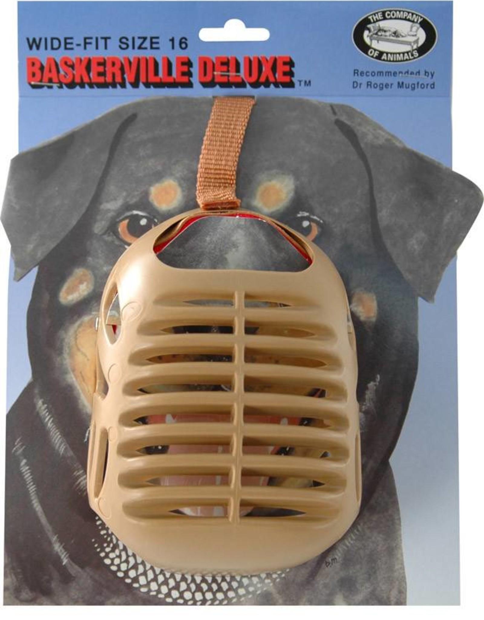 Company of Animals Baskerville Dog Muzzle Size 16, Bull Mastiff