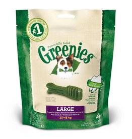 Greenies Dental Chews for Large Dogs 23-45kg, 170g, 4 pack