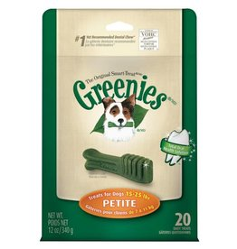 Greenies Dental Chews for Petite Dogs 8-11kg, 340g, 20 pack