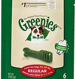 Greenies Dental Chews for Regular Dogs 11-22kg, 170g, 6 pack