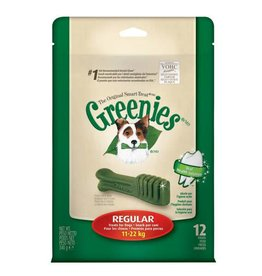 Greenies Dental Chews for Regular Dogs 11-22kg, 340g, 12 pack