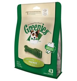 Greenies Dental Chews for Teenie Dogs 2-7kg, 340g, 43 pack