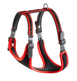 Ferplast Ergocomfort Dog Harness, Red