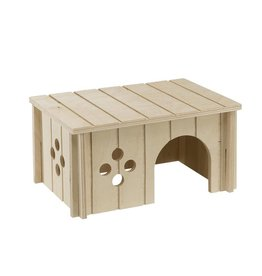 Ferplast Small Animal Wooden Guinea Pig House