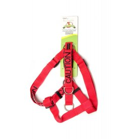 "Friendly Dog Collars ""Caution"" Strap Dog Harness *CLEARANCE"