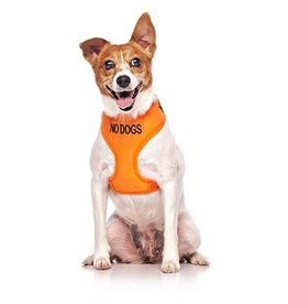 "Friendly Dog Collars ""No Dogs"" Vest Dog Harness *CLEARANCE"