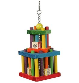 Happy Pet Building Block Maze Parrot Toy