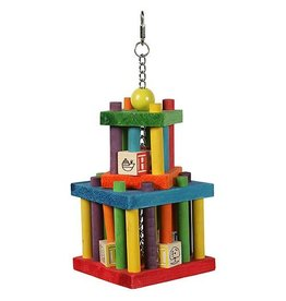 Happy Pet Building Block Maze Parrot Toy