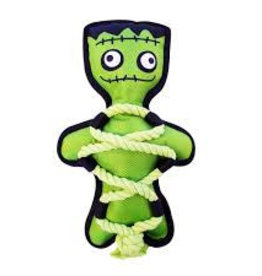 Happy Pet Creepy Cross Ropes Monster Dog Toy