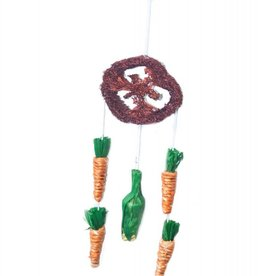 Happy Pet Critter's Choice Dream Catcher Hanging Small Animal Toy