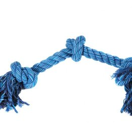 Happy Pet Flossin Fun Rope 3 Knot Dog Toy