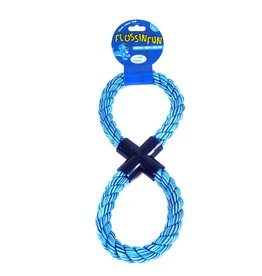 Happy Pet Flossin Fun Rope Figure of 8 Dog Toy